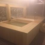美杉リゾートのヒノキ風呂1