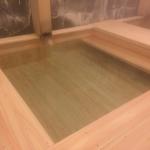 美杉リゾートのヒノキ風呂2