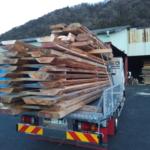 お施主さんの山の木で家を作るプロジェクトです