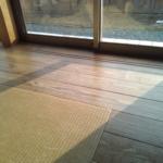スギの無垢の床板は時間とともに素敵な味わいとなります。