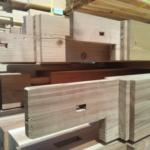 大工さんの工場から建築現場まで木材運搬しました