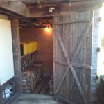 今度は素敵な薪小屋に納品しました!