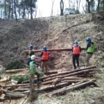 「セブンの森」春イベントで森を整備していただきました!