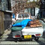 東京表参道に杉板納品しました〜♪