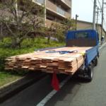 マンションの全面リフォーム向けに「もりずむの杉板」を検品・納品しました!