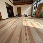 和歌山の借家リフォームでも、もりずむ杉板をお使いいただきました!