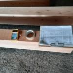 もりずむの木・構造材の検査を受ける準備をしました。