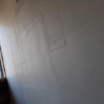 お茶屋さんで和紙の壁貼りワークショップが開催されました♪