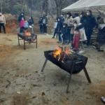 美里水源の森で「火起こし体験等」イベントをしました!