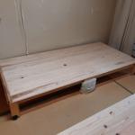 ベッドの下敷きに杉マットを使っていただきました!